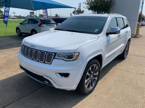 Pre-Owned 2018 Jeep Grand Cherokee Overland RWD 4D Sport Utility