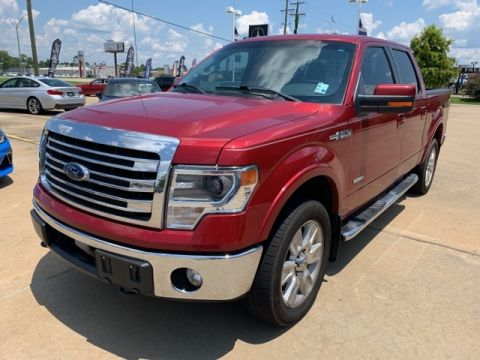 Pre-Owned 2013 Ford F-150 XLT 4WD 4D SuperCrew