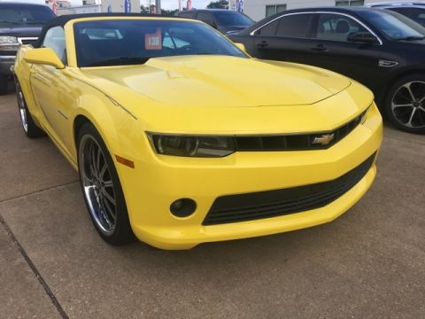 Pre-Owned 2014 Chevrolet Camaro 2LT RWD 2D Convertible