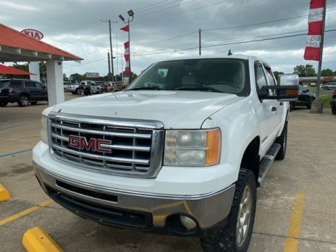Pre-Owned 2009 GMC Sierra 1500 SLE 4WD 4D Crew Cab